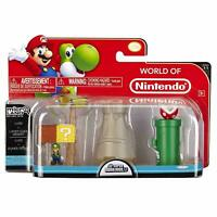 Mario Bros Universe Micro Land Layer Cake Desert with Luigi Playset Collectable