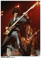 Thin Lizzy Phil Lynott Color Poster