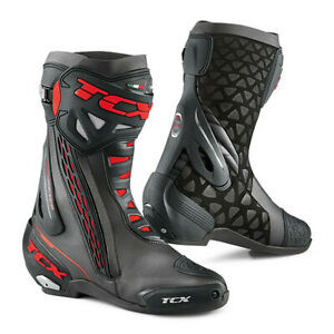 Stivali Tcx Rt-Race Nero Rosso 7655
