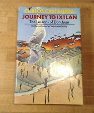 Journey to Ixtlan, Lessons of Don Juan, Carlos Castaneda, Hardcover 2nd Printing