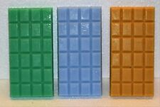 3 x Highly Scented 85 gram Chocolate Bar Shaped Wax Melts.. over 320 fragrances