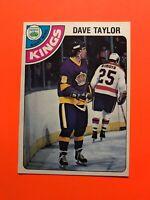 Dave Taylor ROOKIE 1978-79 O-Pee-Chee NHL Hockey Card #353 LA Kings
