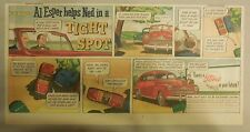 "Ford  Ad: ""Al Esper Helps Ned in a Tight Spot""  from 1940's"