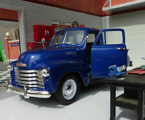 G LGB 1:24 Maßstab 1953 3100 Chevrolet Pickup Truck Welly Druckguss V Modell