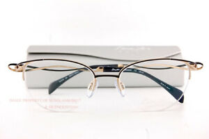 New CHARMANT Eyeglass Frames Titanium Line Art XL 2149 BK Black For Women