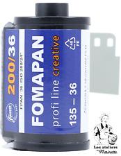 FRESH: Fomapan Creative 200 - 36 poses - N&B - Pellicule Argentique 35mm