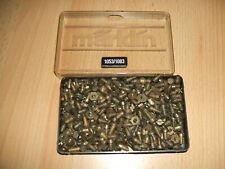 Märklin Metallbaukasten 150 Schrauben 14002/50x14003  mit 200 Muttern