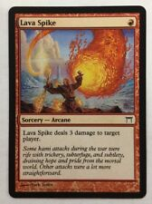 LAVA SPIKE MAGIC THE GATHERING CHAMPIONS OF KAMI CARD IS NEAR MINT TO MINT NP