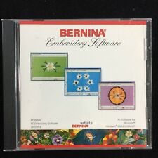 Bernina Pc-Embroidery Software Version 4 installation Cd For Artista- No Dongle