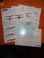 "Begemot 1/72 Yakovlev Yak-96.5cmForger"" Familia con Plantillas 7250"
