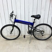 "Montague X Mountain folding Bike 26"" Inch Kalloy Shimano Bicycle Blue"