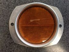 Signal-stat 43 Amber Lens Reflector NOS