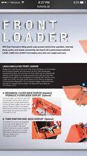 Kubota LA805 LA1055 Loader 3rd Function Quick Attach Coupler L2260