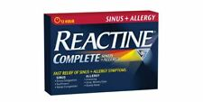 Reactine Complete Sinus and Allergy 30 Caplets Ships from Canada