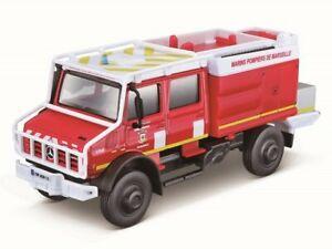 Mercedes Unimog Pompiers BBURAGO