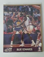 """Blue Edwards - 8"""" x 10"""" - Utah Jazz - Picture Poster NBA Hoops"""