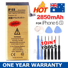 High Capacity 2850mAh Replacement Battery For Apple iPhone 6S Gold Free Tool Kit