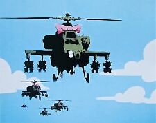 Happy Choppers, Offset Lithograph, BANKSY