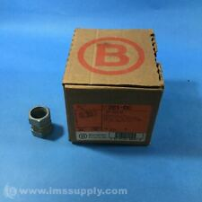 "Bridgeport 261-DC 3/4"" Zinc Diecast Compression Coupling 4082"