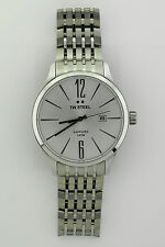 NEW TW Steel Silver Dial Stainless Steel Unisex Watch TW1307 (NIB)