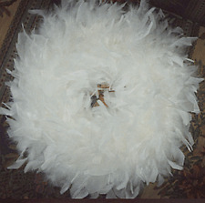 Gorgeous Feather Wreaths for Chistmas! Nice Beautiful Gift Wreaths.Love These!