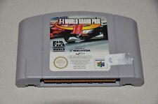 N64 Nintendo 64 juego módulo-fórmula uno f1 World Grand Prix II-Sport