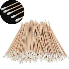 Salon Extra Long Cotton Buds applicators 100PCS/Pack swabs cleaning wood 150mm