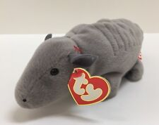 "2c7fd933934 Ty Beanie Babies No Shell ""Tank"" Armadillo 3rd   2nd Generation"