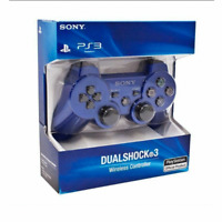 Brand NEW Sony PlayStation 3 PS3 DualShock 3 Wireless SixAxis Controller Blue j