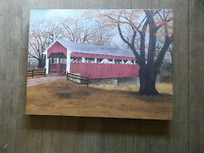 "Butternut Bridge, covered bridge 12 x 16"" Canvas Print by artist Billy Jacobs"