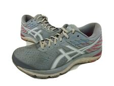 ASICS Running Fitness Gym Shoe Gel Cumulus 21 Pink Gray 1012A468 Womens Size 9