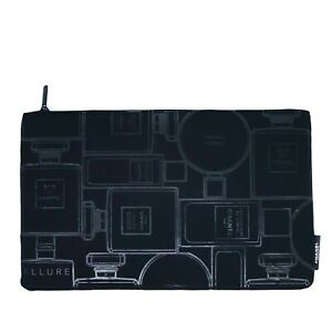 CHANEL COSMETIC/MAKEUP BAG pouch black VIP GIFT