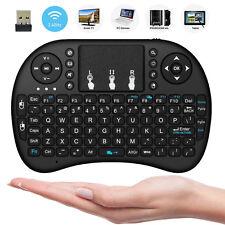 10pcs Funk Mini Tastatur Kabellos Keyboard Touchpad für Smart TV Android Box PC