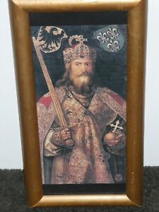 King Charlemagne Of The Franks or Charles The Great 748-814 AD Framed Print