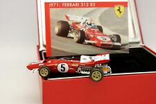 Hot Wheels 1/43 - Ferrari F1 312 B2 Nurburgring GP 1971 N°5 Andretti