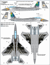 Warbird F-15C Eagle, Oregon ANG, 173rd FW, Commemorative Scheme Decals 1/72 041