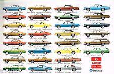 1976 DODGE Brochure :CORONET,CHARGER,DART,MONACO,ASPEN,Daytona,Van,Station Wagon