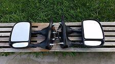 Ford Econoline Eseries E150 E250 E350 Towing Telescoping PWR Side Mirrors Mirror