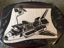 "Large Vintage NASA Space Shuttle Poster Negative - 44 1/2"" X 30"""