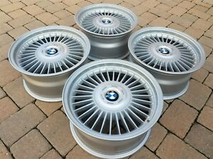 BMW E9 E24 E28 M5 E38 Fuchs ALPINA OEM RESTORED Forged 16x8 Style 4 Wheels Rim