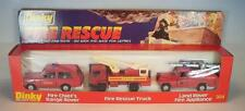DINKY TOYS 304 rire Rescue Set Fire Range Rover/RESCUE camion/Land rover neuf dans sa boîte