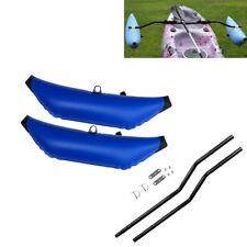 2Pcs Kayak canoa gonfiabile stabilizzatore stabilizzatore galleggiante acqua