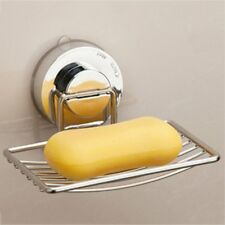 Stainless Steel Wall-mounted With Strong Vacuum Suction Cup Soap Dish Holder GT