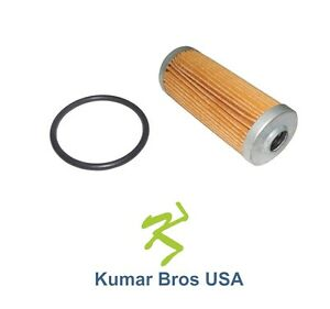New Kubota Fuel Filter with O-ring 16271-43560