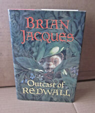 BRIAN JACQUES autograph book Outcast of Redwall fantasy woodland creatures 1996