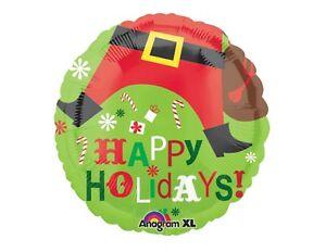 Santa Foil Balloon Bouquet, Better Be Good Christmas Party Decor Retail Pack 5p