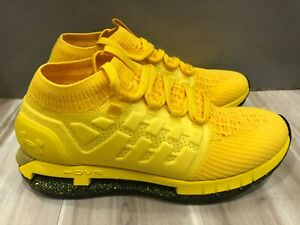 New Men Under Armour Hovr Phantom Highlighter Taxi Yellow Shoes 3022397-700 10.5