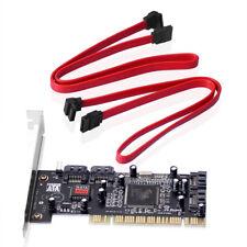 Tarjeta PCI > 4 x internamente SATA ata con RAID ampliación 4x SATA internamente i/o PC + cable