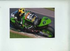 James Haydon Kawasaki British Superbikes 2007 Signed Photograph 2