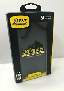 NEW Authentic Otterbox Defender Case w Holster for Samsung Galaxy Note10 - BLACK
